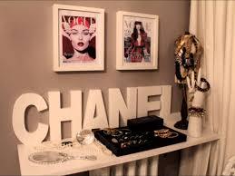 Chanel Inspired Home Decor Quarto Channel Pesquisa Google Quartos Pinterest Quartos