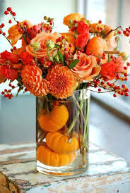 fall flower arrangements for tables thanksgiving flower arrangements