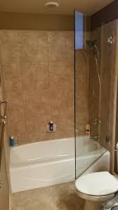 tub with glass shower door glass doors bathtub