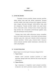 contoh membuat proposal riset bab i sai 3