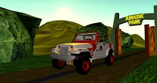 jurassic park tour car jurassic park gas powered staff jeep dl by valforwing on deviantart