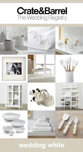 creative wedding registries color obsessed with crate barrel wedding registry crates