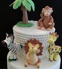 safari cake toppers baby shower cakes unique safari cake toppers for baby shower