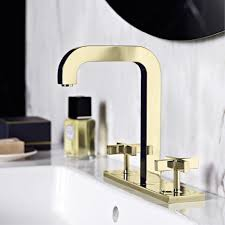 coloured surface finishes for mixers and showers hansgrohe int axor citterio two handle mixer in gold finish
