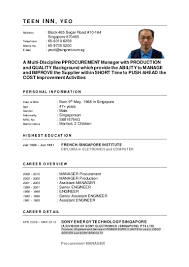 Sample Resume For Hr Assistant by Ti Yeo Resume Re Build 25 Jun 2015