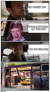 Meme Store - bad luck brian disaster taxi runs into convenience store imgflip