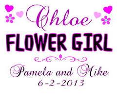 customized wedding gift flower girl t shirt personalized customized wedding gift any name