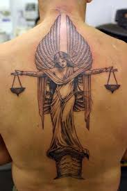 libra zodiac sign tattoo ideas for men on back libra tattoo