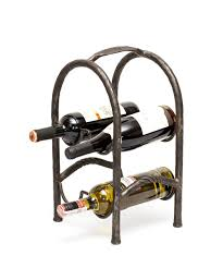 forged wine rack craftest