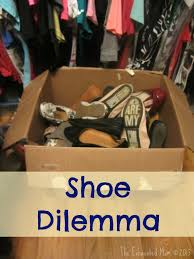 shoe organization for small closets the exhausted mom
