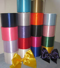 wide ribbon details about satin sash ribbon 4 100mm wide 20