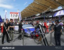 cars honda racing hsv 010 sepang june 10 raybrig honda hsv010 stock photo 104916140