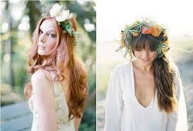 coiffure mariage boheme mariage nature et si on optait pour une coiffure bohème