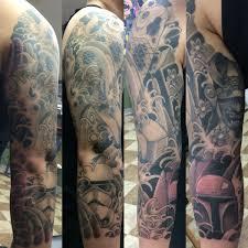 japanese star wars sleeve ben mack gentleman tattooer tattoos