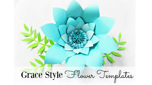 giant paper flowers grace style large youtube