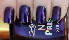 sally hansen nail prisms u2013 burgundy orchid lindsey u0027s lacquer