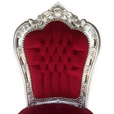Esszimmer Designer St Le Stühle Für Küche Esstisch Angebot Barock Bordeauxrote Tisch 80cm