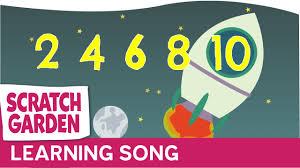 the counting by twos song scratch garden youtube