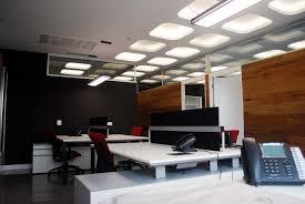 fabulous round lighting above red office chair on sleek floor plus