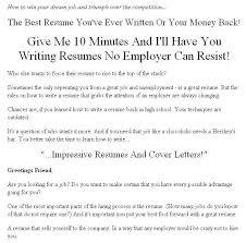 how to write an impressive resume hitecauto us