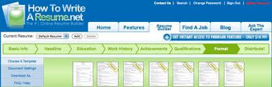 Online Resume Checker by Get That Job Six Online Resume Tools Cnet