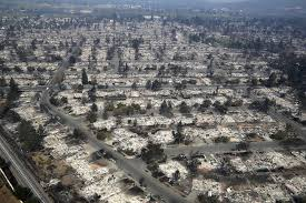Wildfire Honey by Santa Rosa Fire How The Wildfires In California Became So
