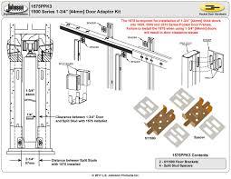 What Is A Split Floor Plan Johnsonhardware Com Sliding Folding Pocket Door Hardware 1500