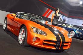Dodge Viper Orange - la show dodge celebrates viper srt10 u0027s final year with special