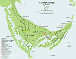 abaco resort map map of treasure cay in abaco bahamas villa by the sea