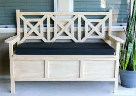 Patio Storage Ottoman Outdoor Storage Ottoman Bench Floorganics