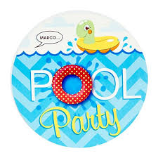 pool party invitations summer pool party supplies invitations 8