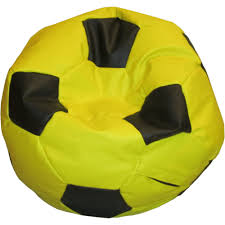 kids soccer bean bag classic filled with beans