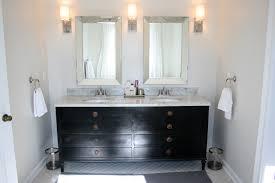 Bathroom Vanity With Trough Sink by Bathroom Floating Vanity Cabinet Restoration Hardware Vanity