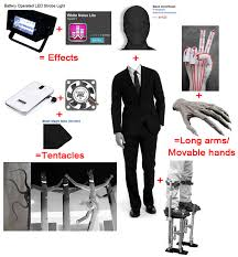 Slender Man Halloween Costume Slenderman Costume Components Tentacles Effects Correct