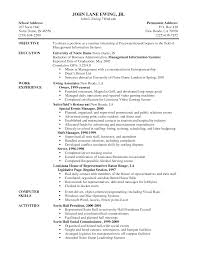 Resume Objective Samples Collection Of Solutions Server Resume Objective Samples For Your