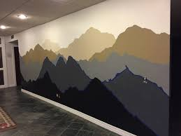 beauteous 70 mountain wall mural inspiration design of purple mountain wall mural the alaskan muse diy mountain mural