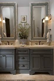 bathroom white wooden frame mirror bathroom grey bathroom ideas