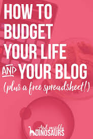 How To Read A Budget Spreadsheet by Feminism Archives And Possibly Dinosaurs