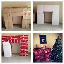 Decorative Fireplace by Cardboard Decorative Fireplace Diy Usefuldiy Com