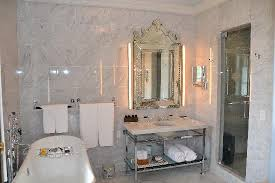 Marble Bathroom Showers Marble Bathroom With Heated Floors And Steam Shower Picture Of