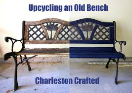 upcycling an old bench u2022 charleston crafted