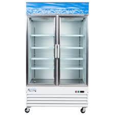 coca cola fridge glass door avantco gdc40 48
