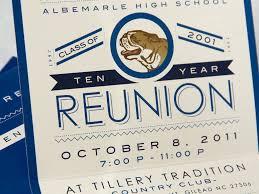 high school reunion invitations year reunion invitation volvoab