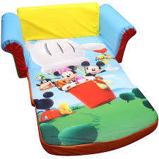 Doc Mcstuffins Sofa by Marshmallow Furniture 2 In 1 Flip Open Sofa Mickey Mouse Club