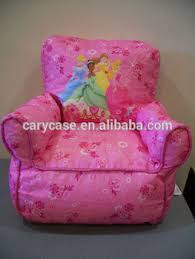 princess toddler pink bean bag kids sofa chair tv video game