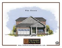 House Plans For A View Floor Plans For The Hamlets In Rocky River