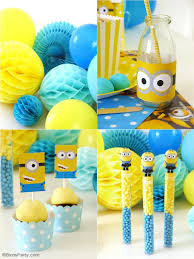 minion party favors minion inspired birthday party ideas free printables party