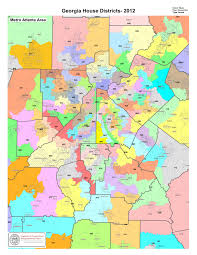 Atlanta On Map by Government Georgia House Districts Metro Atlanta General