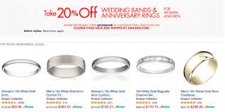 wedding bands singapore wedding bands anniversary rings 20 bq sg bargainqueen