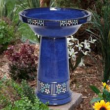 smart solar ceramic solar bird bath hayneedle